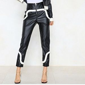 Nasty Gal Vegan Leather Pants